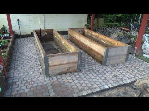 Hochbeet Garten Selber Bauen Youtube With Images Garten Dekoration Napady