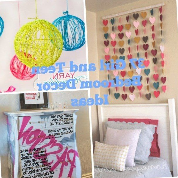 Diy Decorations For Teenage Bedrooms   Https://bedroom Design 2017.