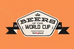 De bieren van het WK 2014 The beers of the worldcup football.  Alle bieren van het WK voetbal. Beer from every country of the World Cup in Brasil