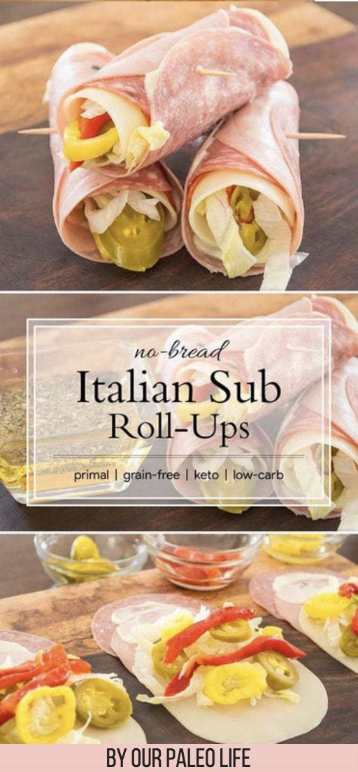 30 Best Weight Loss Keto Snacks: No Bread Italian Sub Roll Ups. These delicacies … – Recipes – #best #Bread #Delicatessen #This