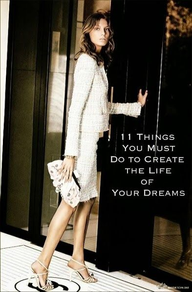 11 Things You Must Do to Create the Life of Your Dreams