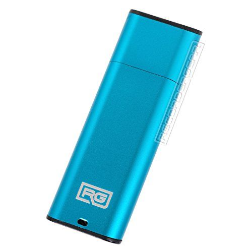 FD10 8GB USB Flash Drive Voice Recorder / Small 192kbps HD Quality Audio Recording Device / 16hr Battery