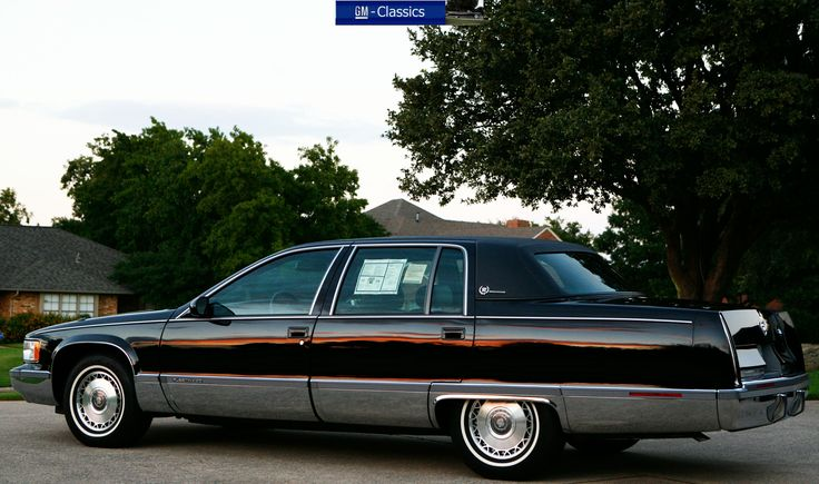 The 1993 1996 Fleetwood Brougham The Very Last Large