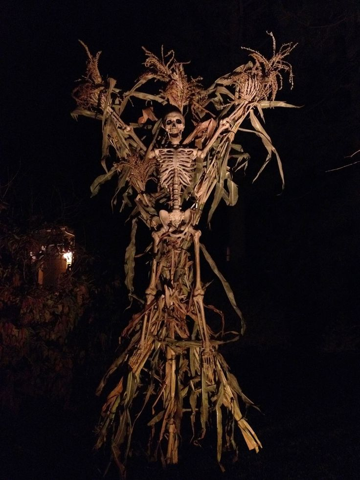 Scarecrow from the King Family Haunted House