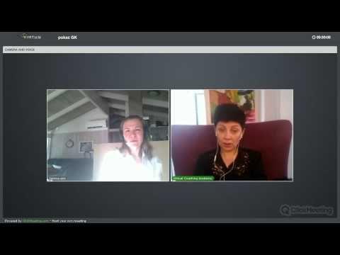 Показательная сессия методом Голографического Коучинга. Коуч Зина Йенсен-Мор. http://www.virtuscoach.com/ru/coaching-course/gk/ Обучиться методу вы можете в ...