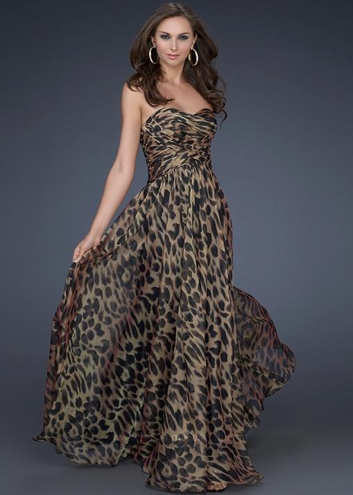 43 best Animal print prom dress images on Pinterest | Animal ...