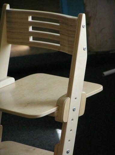 Детский растущий стул из фанеры