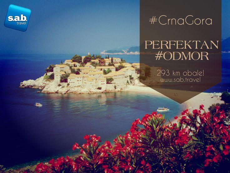 NAJPOVOLJNIJI ARANŽMANI - #CRNAGORA Crnogorska obala je duga 293 km, ima 117 plaža ukupne dužine 73 km. Možete birati ono što vama najviše odgovara - peščane, kamenite ili stenovite plaže.   Za rani BUKING specijalni popusti! Za više informacija pogledajte na našem websajtu http://www.sab.travel/ponude-drzava/crna-gora  Adresa: Deligradska 9, 11000 Beograd Web adresa: www.sab.travel Telefon: +381 11 30 65 350 Email: office@sab.travel  #sabtravel #leto2015 #Montenegro #letovanje #odmor