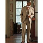 1920s mens fashion suit @vintagedancer.com/1920s
