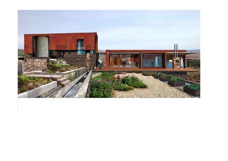 Sm!t Architects; Napier Wine Estate (Pump station and offices)