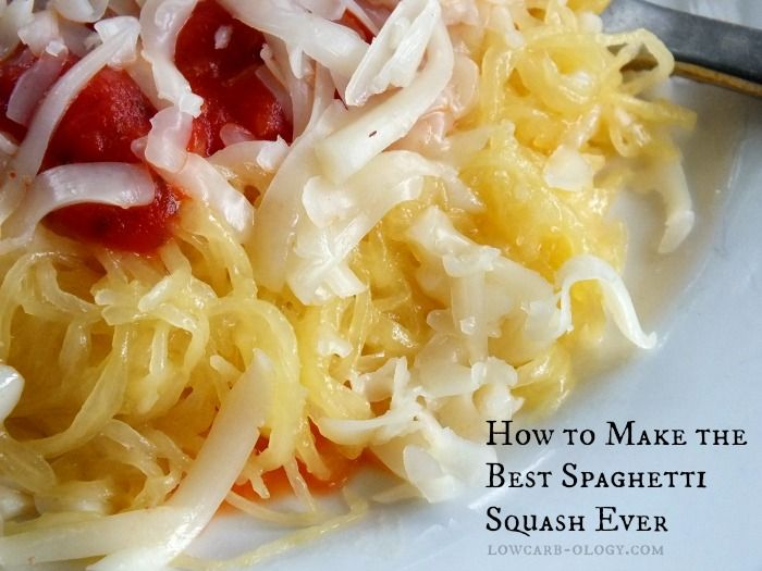 Best #Spaghetti #Squash Cooking Tips from #lowcarb -ology.com - Shared via https://facebook.com/lowcarbzen