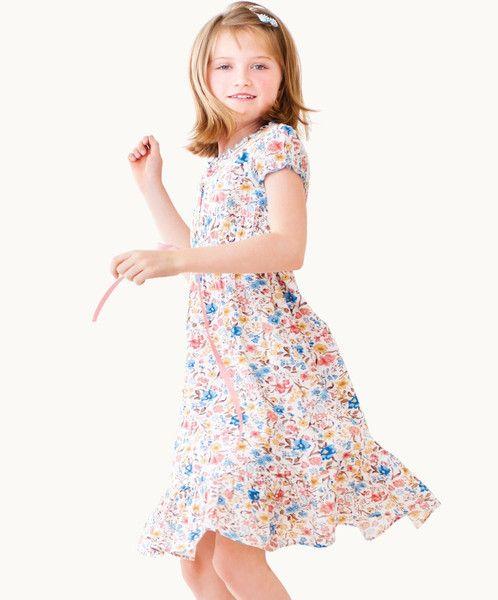 Grace Ruffle Trimmed Dress - only a few left! Get in quick! Sale sale sale!