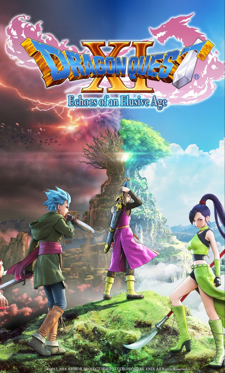Dragon Quest Xi Echoes Of An Elusive Age Windows Square Enix Dragon Quest Echo Dragon