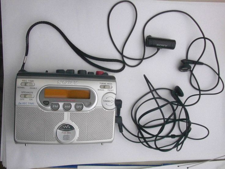 SONY WM-GX400 AM FM RADIO CASSETTE RECORDER DIKTIERGERÄT WALKMAN TOP