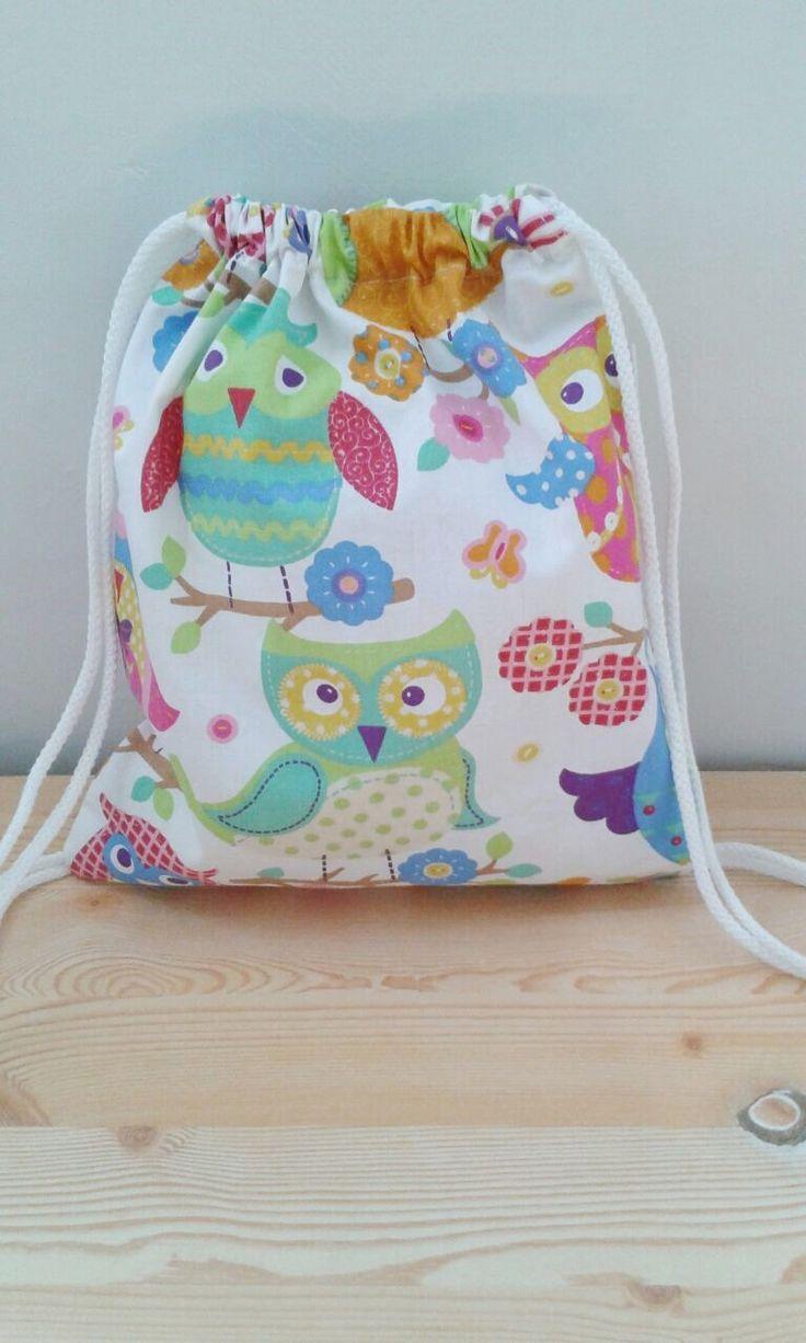 Owls backpack,children backpack, kids backpack,children bag, baby bag, kawaii bag, school bag,lunch bag,clothes baby bag, owls bag door MeSaleBordado op Etsy https://www.etsy.com/nl/listing/202729782/owls-backpackchildren-backpack-kids