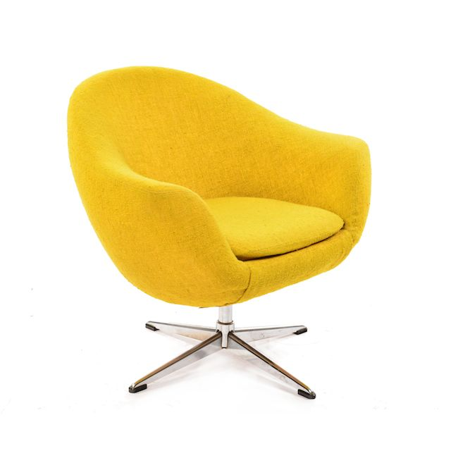 Best Overman Lounge Chair Mustard Yellow Lounge Chair 640 x 480