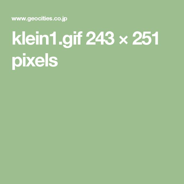 klein1.gif 243×251 pixels