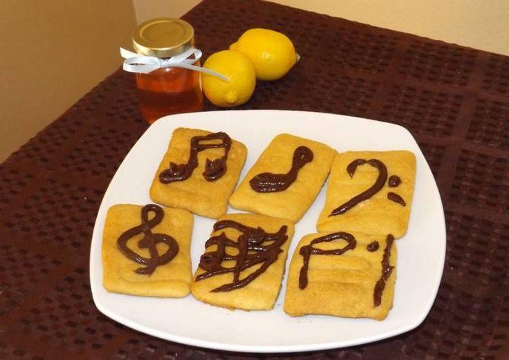 Galletas de miel y limón
