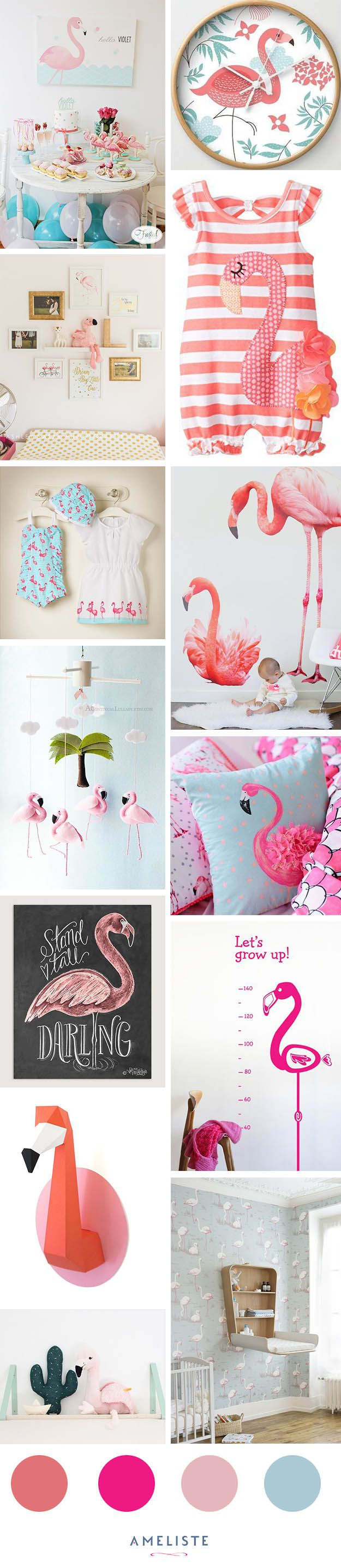 Create a luxurious and unique decoration for the kids' room with these pink themed projects.