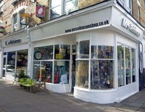 Mrs Robinson, East Dulwich, HOmegirl London