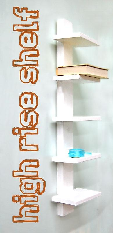 #DIY #shelf unit.. looks pretty easy to make. Perfect solution for our tiny #bathroom with zero storage! Might even use this in the living room for DVD display.