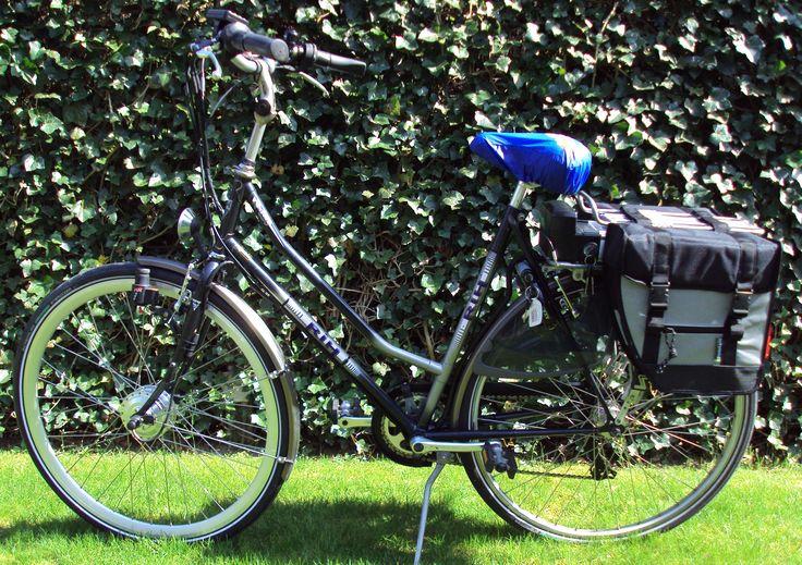 RIH R-650 omgebouwd tot elektrische fiets met Comfort ombouwset elektrische fiets