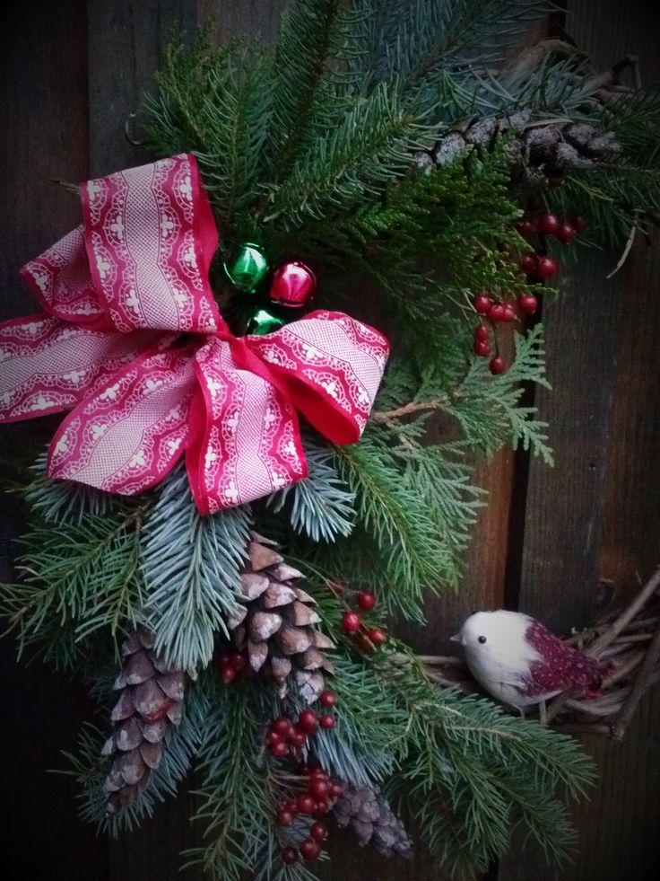 Lynn, Christmas wreath Made In Paris