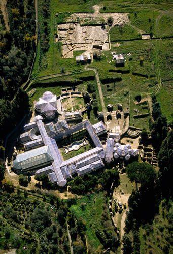 villa_casale Villa romana muy conservada en Piazza Armerina Sicilia