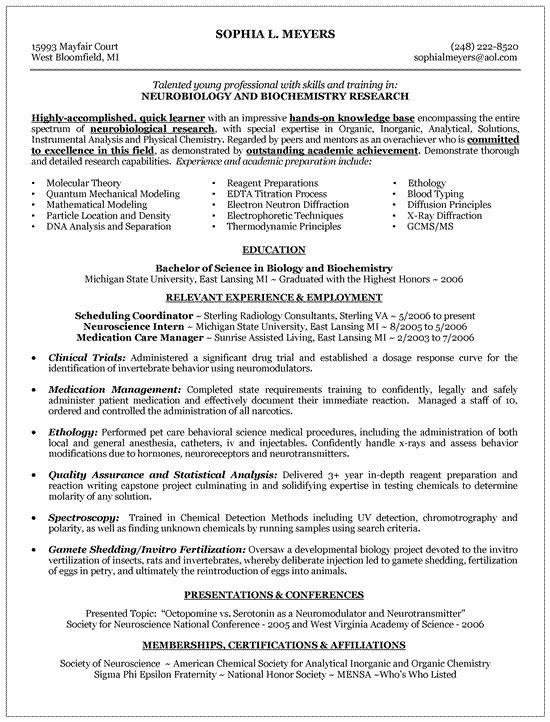 Entry Level Resume Resume objective examples, Job resume