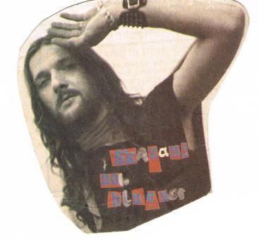 """foto z lipcowego,słynnego numeru """"Non Stop"""" w 1988 roku,do którego w Brodnicy na koncercie odniósł sie Rysiu"""