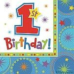 Verjaardag - Verkoop feestartikelen - Servetten 16 stuks/ 2 lagen - Producten…