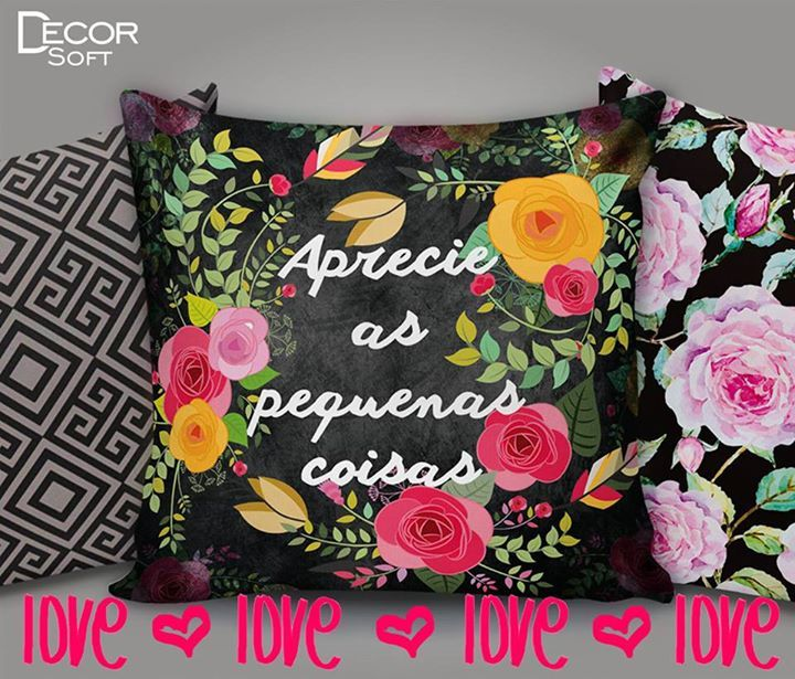 💖 ↞ Aprecie as pequenas coisas ↠ 💖  https://br.pinterest.com/decorsoft @decor_soft #decorsoft #decor #almofadas #decoração #adorable #pequenascoisas #aprecie