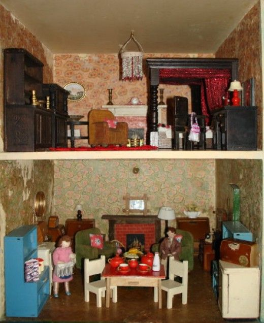 Captivating Vintage Dolls Houses
