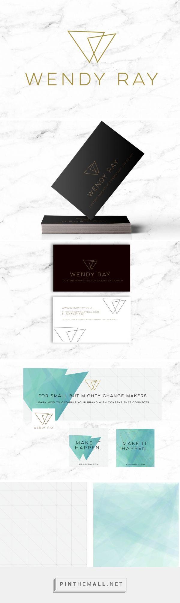 Wendy Ray Logo Design & Branding   Lollipop Creative Studio #logodesign…