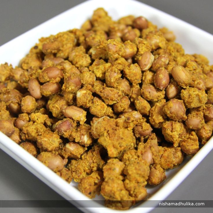 Baked Masala peanuts is very crunchy and spicy snack you can never say no to. Recipe in English- http://indiangoodfood.com/2417-baked-masala-peanuts.html ( Copy and paste link into browser)