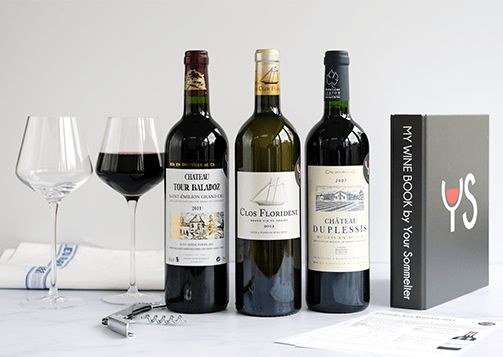 Wine gift boxes - wine subscription gifts - wine delivery is the perfect gift for wine lovers! #tasting #card #wine #yoursommelier #box #monthlybox #subscriptionbox #monthlysubscription #sommelier #frenchwine