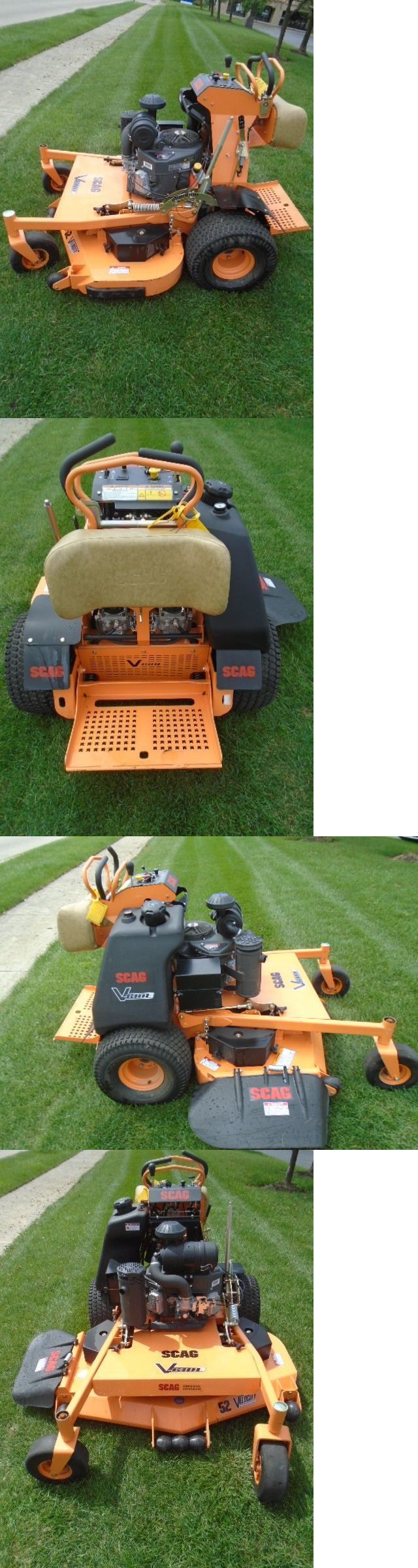 Riding Mowers 177021: 2017 Scag V-Ride Demo 52 Commercial Stand On 23Hp Kaw Eng 29 Hours H#144928 -> BUY IT NOW ONLY: $7195 on eBay!