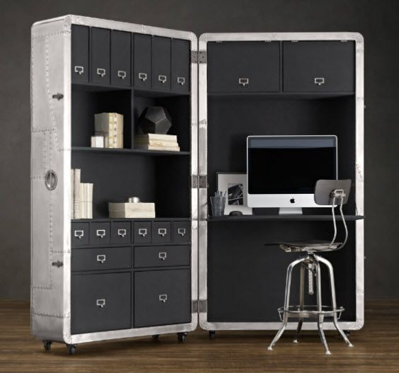 Blackhawk Secretary Trunk: A Home Office You Can Fold Into An Armored Case...