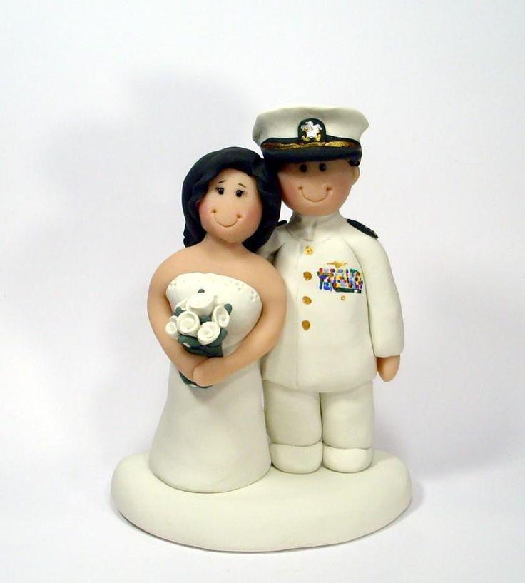 Ginger Babies Custom Military Wedding Toppers Gingerbabiesetsy