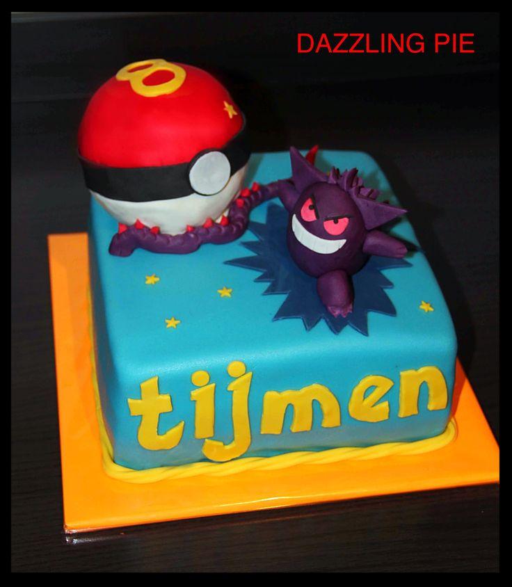 Pokémon taart/cake made by Dazzling Pie