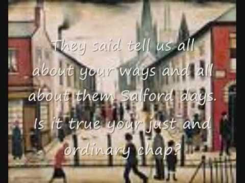 Matchstalk men and matchstalk cats and dogs (with lyrics)   About the works of Lowry.