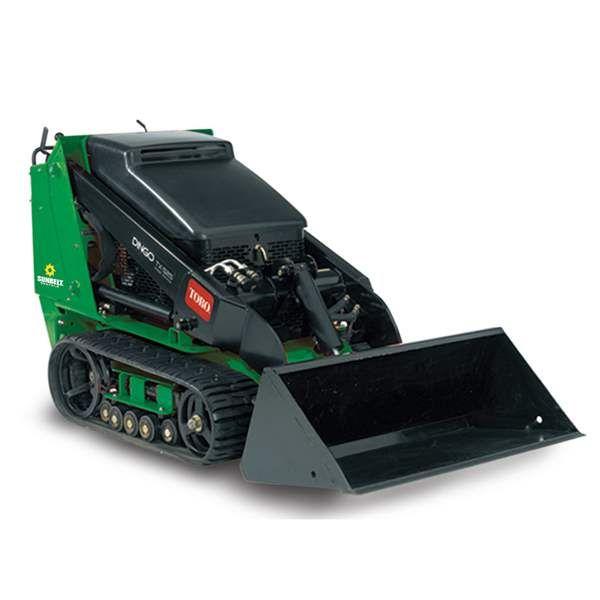 500lb Gas Track Mini Skidsteer 4x4 Trucks Toys For Horses Dingo