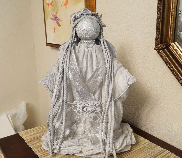 sale online clothes uk She glues a hanger to a paper towel roll   I LOVE this Christmas decorating idea
