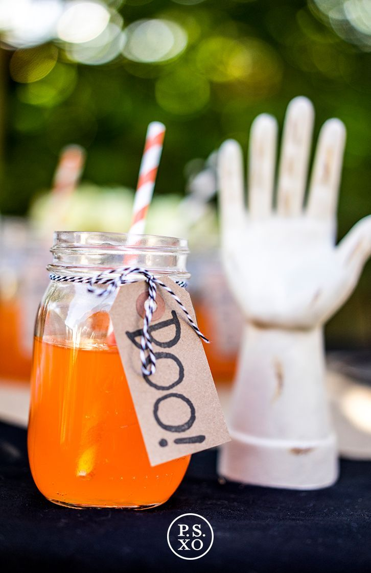 Boo Drink Tag