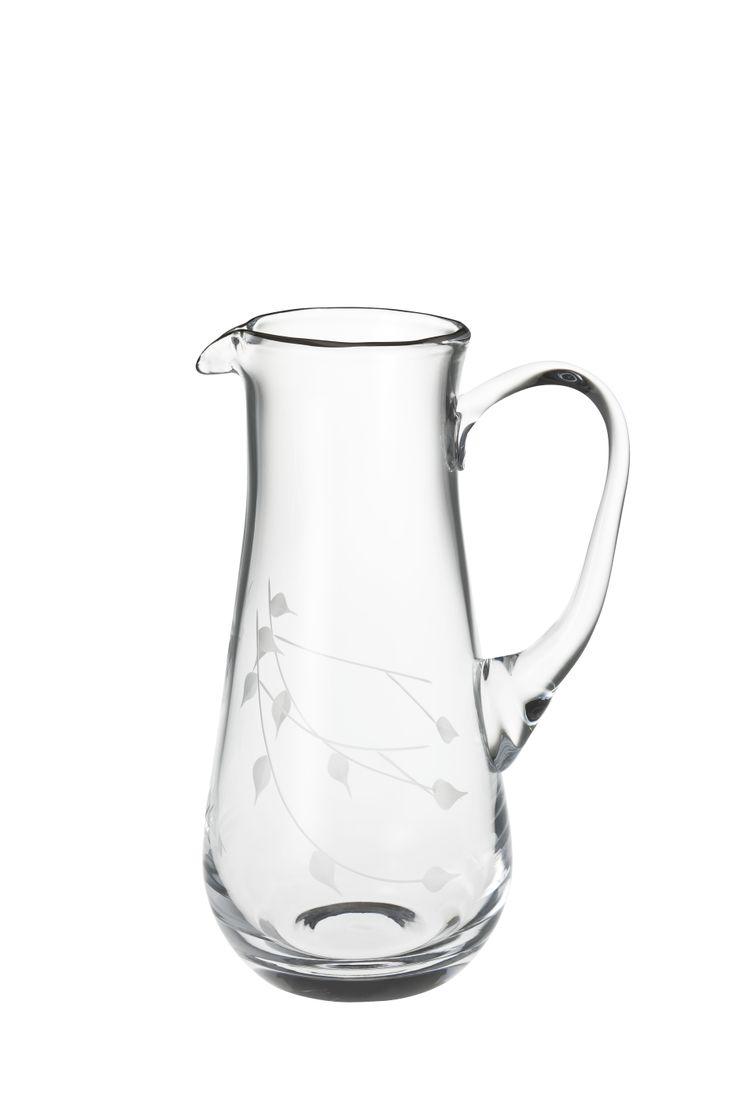 Bernardo Ninfa Sürahi / Water Pitcher #bernardo #glass #tabedesign