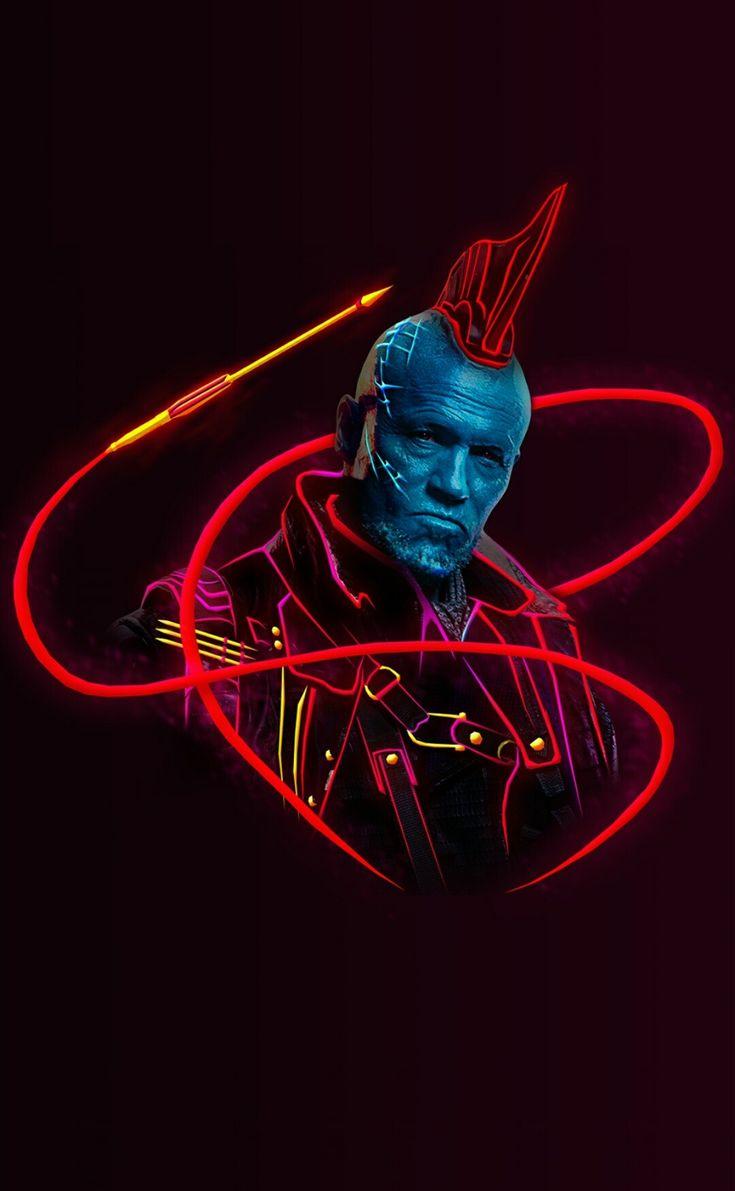Yondu marvel neon wallpaper marvel marvel comics - Neon hd wallpaper for mobile ...