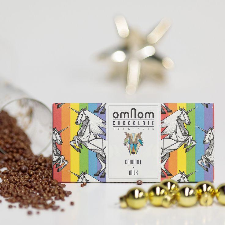 Omnom Chocolate 5th day of Advent: Caramel + Milk.
