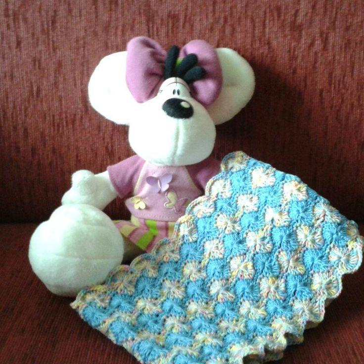 Scaldacollo per piccola signorina (3-8anni) di cottone per primavera ed estate