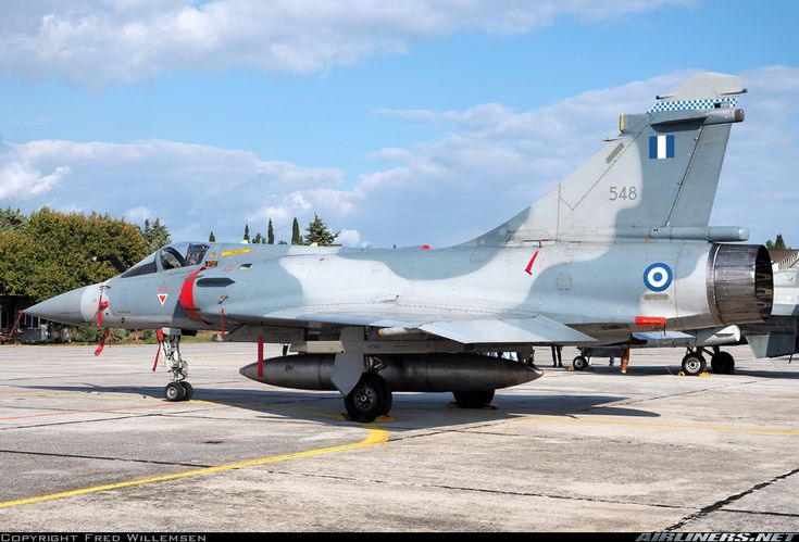 Dassault Mirage 2000-5EG - Greece - Air Force | Aviation Photo #4759215 | Airliners.net