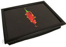 Red Chilli TV Dinner Bean Bag Padded Cushioned Beanbag Dinner Serving Lap Trays
